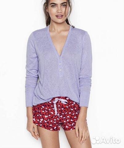 721006695d353 Пижама (шорты + кофта ) от Victoria's Secret Викто | Festima.Ru ...