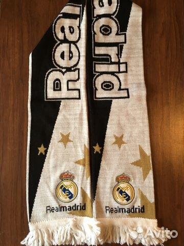 Футбольный шарф реал мадрид
