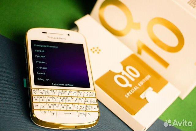 BlackBerry Q10 gold är mycket sällsynta