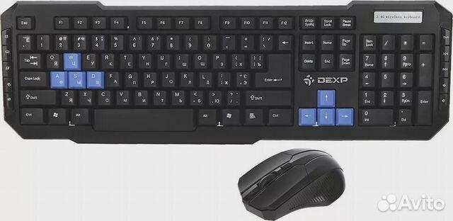 Клавиатура беспроводная + мышь