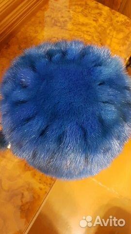 Шапка норковая (вязанка) 89145247425 купить 3