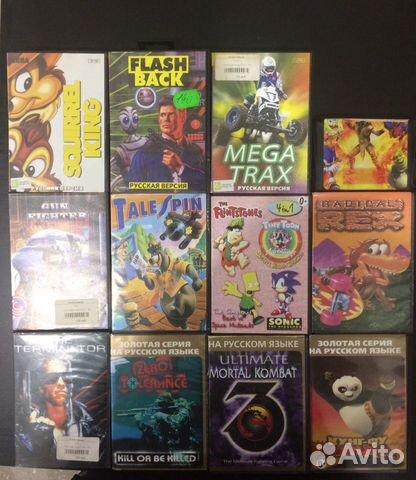 Cartridges for Sega