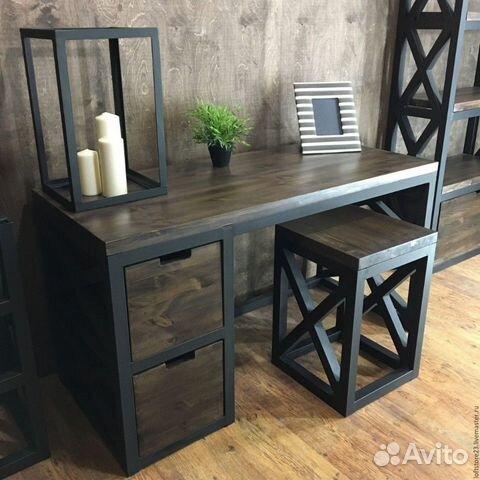 Стол в стиле лофт 89885896781 купить 1