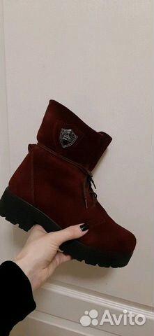 Зимние ботинки замша 89147720690 купить 1