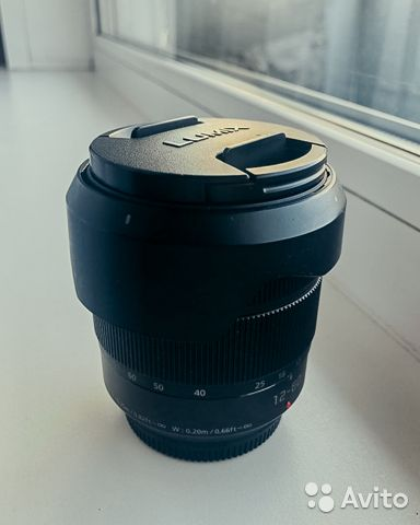 Объектив Panasonic 12-60 f/3.5-5.6