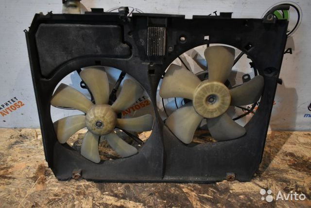 89307139175 Дифузор радиатора Lexus Rx300 2 поколение 1mzfe