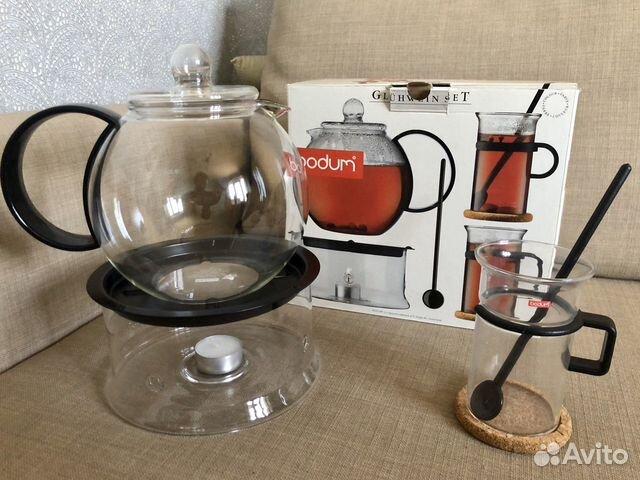 Набор из чайника и кружки Bodum