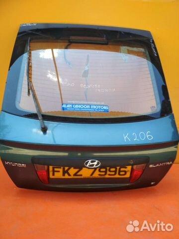 84732022776 Дверь багажника со стеклом Hyundai Elantra 2000-20