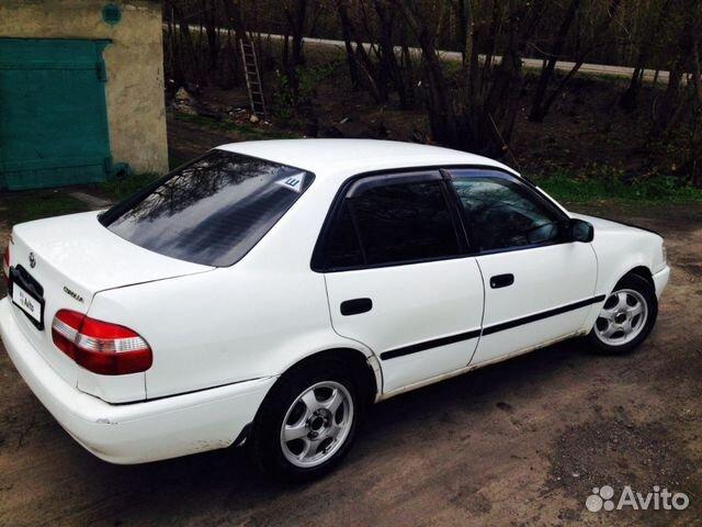 Toyota Corolla, 1998 89030676499 купить 4