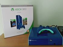 Xbox 360 E Limited edition (freeboot) + 64 игры