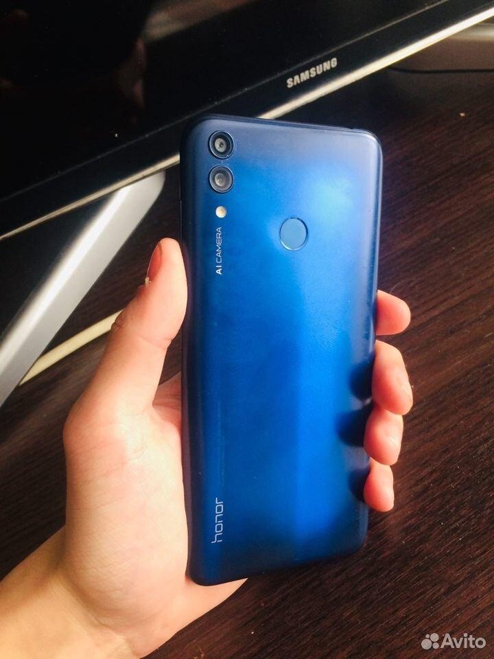 Honor 8c BKK-L21, синий  89247107184 купить 4