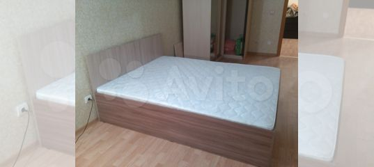 Кровать односпальная 1,6 х 2.0 с матрацем купить в Нижегородской области | Товары для дома и дачи | Авито