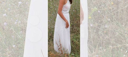 c38fc134203 Белое длинное платье Stradivarius купить в Москве на Avito — Объявления на  сайте Авито
