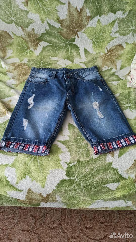Шорты мужские джинсовые размер 30