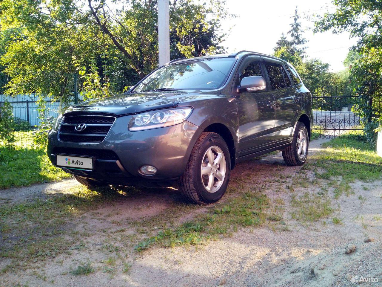 Hyundai Santa Fe, 2008  89097960302 купить 2