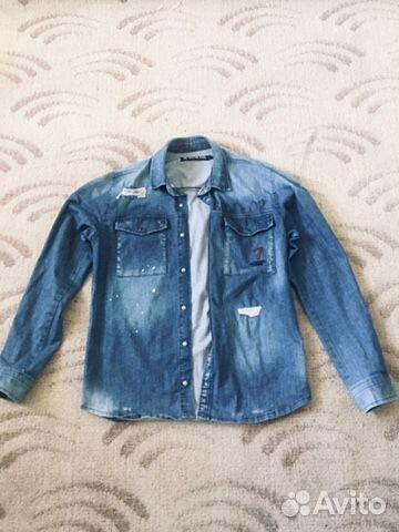 Джинсовая куртка, размер М