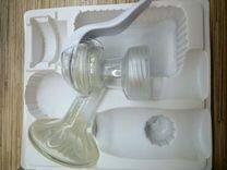 Ручной молокоотсос без бутылочки Avent
