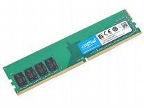 Оперативная память Crucial DDR4 8Gb (2х4) 2666MHz