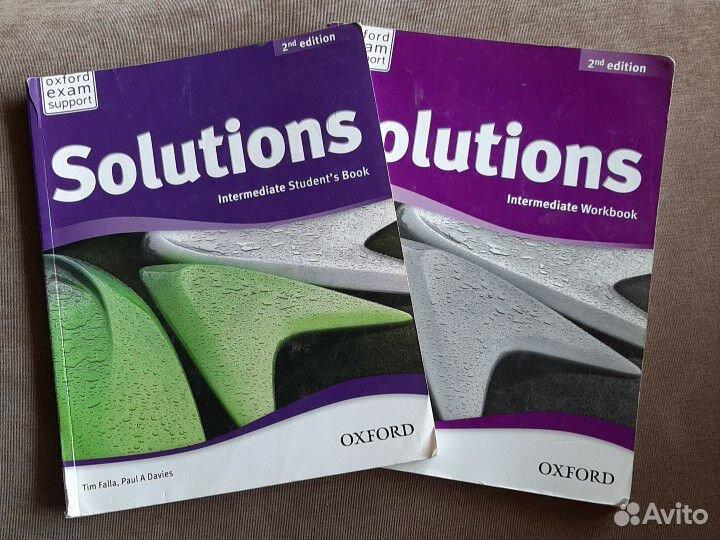 Solutions intermediate учебник и тетрадь