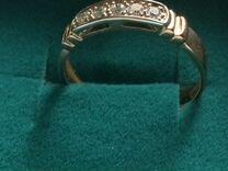 Золотое кольцо с бриллиантами размер 20