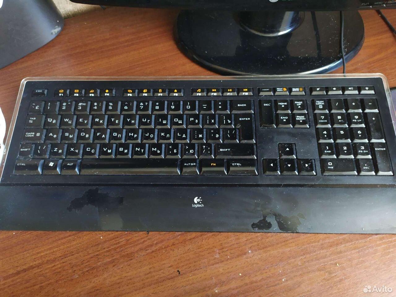 Клавиатура Logitech k740 illuminated keyboard  89508023755 купить 1
