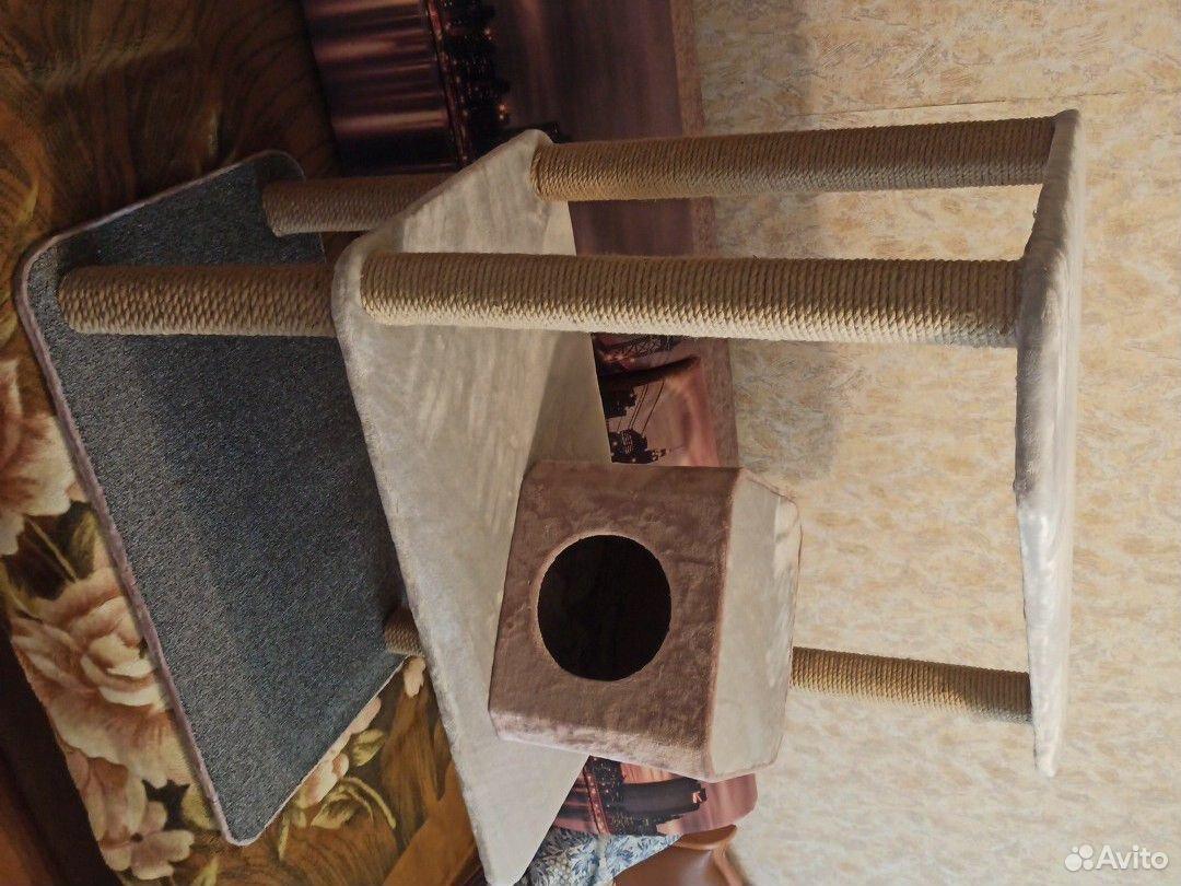 Когтеточка-домик для кошек  89995117703 купить 2