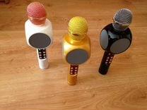 Караоке микрофон WS1816 свет, минусовка, черный