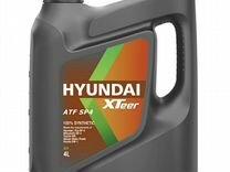 Трансмиссионное масло Hyundai XTeer ATF SP4