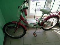 """Детский велосипед stels girl розовый колеса 20"""""""