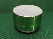 Колонка мини портативная К-02 зеленая