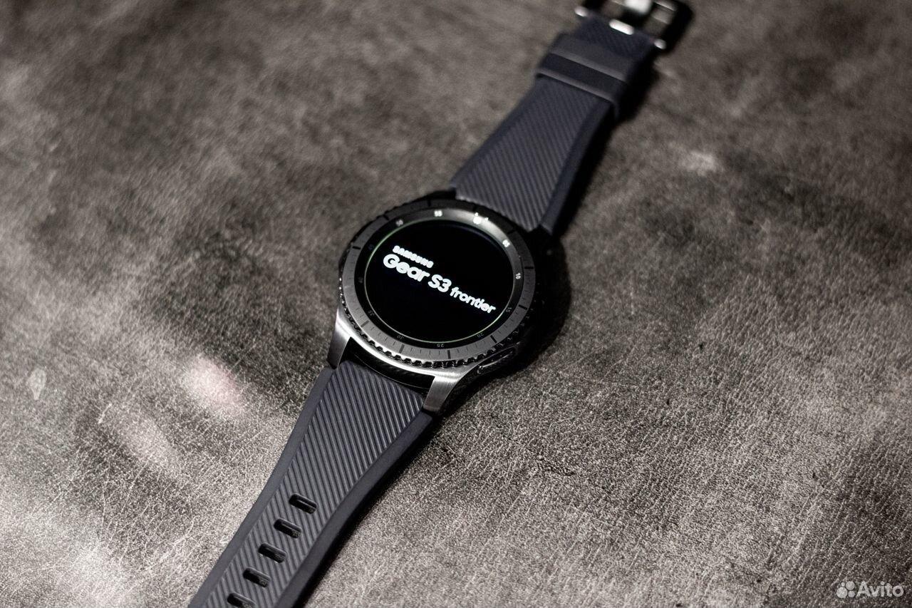 Часы SAMSUNG Gear S3 Frontier  89378001620 купить 3