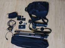 Nikon D5100+ультразум Sigma af 18-250+аксессуары