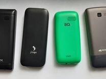 Micromax Intex Jinga BQ 4 штуки упаковки и зарядки