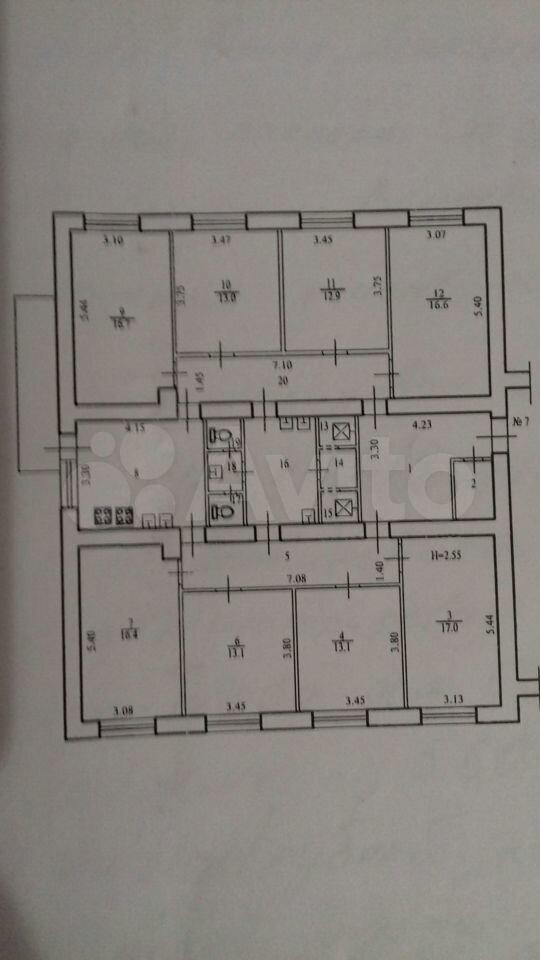 Комната 13 м² в 8-к, 5/9 эт.  89053300334 купить 7