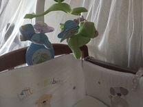 Мобиль на кроватку «Мечты о бабочках «