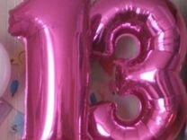 Цифра 13 накаченная гелем