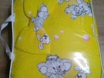 Постельное белье с бортиками в кроватку