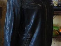 Куртка натуральная кожа мужская б/ у р.48-50