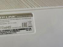 8-портовый коммутатор tp -link tl-sf100