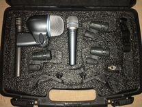 Микрофоны shure,sennheiser для ударной установки