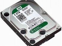 Жёсткий диск sata3 2Тб WD WD20ezrx
