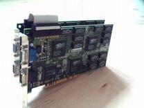 Видеокарты 3Dfx Voodoo2 Monster 2 (8MB) 2 штук Sli