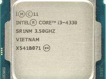 Процессор 1150 Intel Core i3-4330 (3.3GHz)