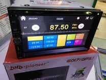 Магнитола DHD Pioneer 6017 с GPS/DVD/Гарантия