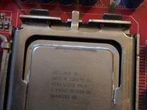 Комплект 775 сокета (мать +проц+озу 6гб)