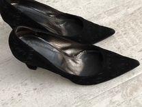 Туфли р37 замша