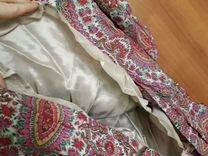 Шелковое платье Zara