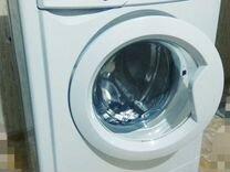 Узкая стиральная машина автомат Indesit 4kg новая
