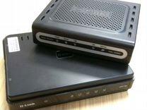 Модем D-Link DSL-2500U + роутер D-Link DIR-100