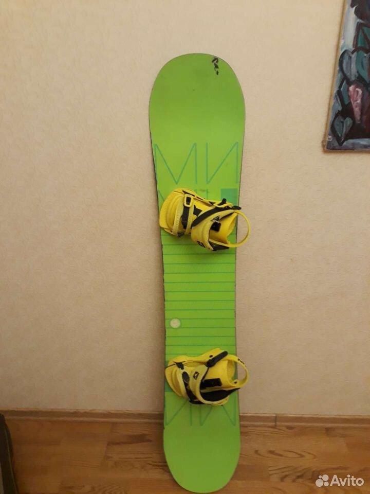 Сноуборд комплект  89650756875 купить 1
